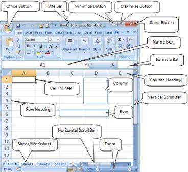Microsoft Excel Window